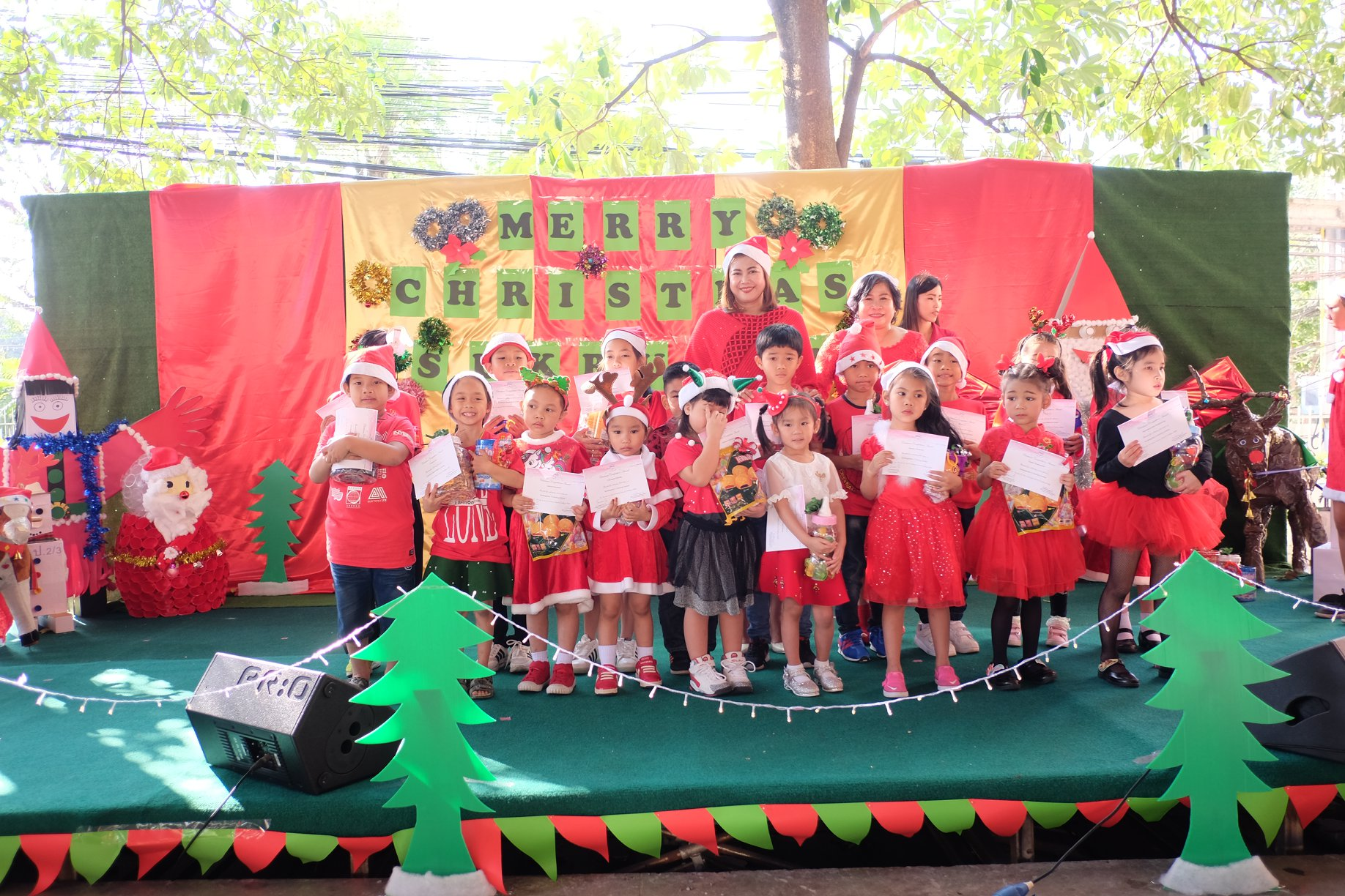 Christmas Eve SRT Party Chinese and English Program Semester 2018